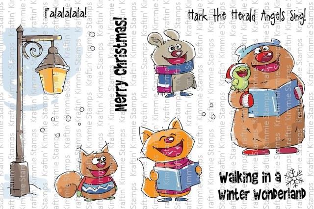 Caroling Cuties