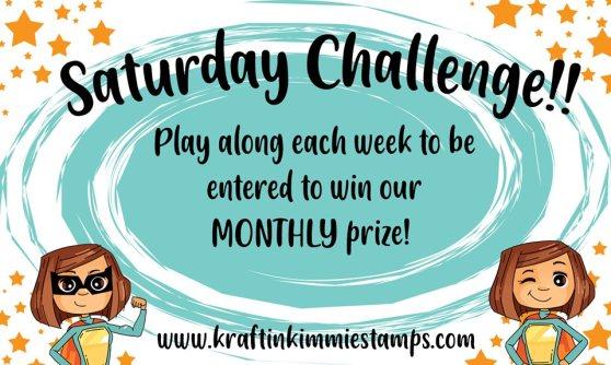 saturday challenge banner